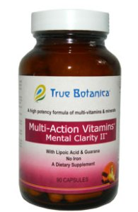 Multi Action Vitamin Mental Clarity II Without Iron